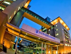 Monash Universtity Sunway Campus in Kulala Lumpur, Malaysia.